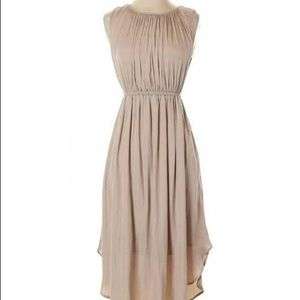 Anthropologie Dolan taupe dress